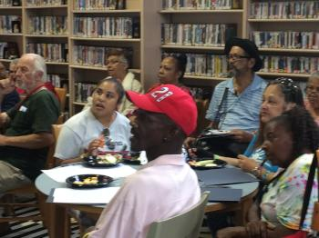 Seniors from all over the city attended an workshop about extreme heat in Kensington.