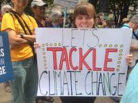 Community members, activists, academics and politicians rallied on Tuesday to demand for local action against climate change
