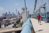 In addition to access, the bridge offers sweeping skyline views, Photo by Neal Santos