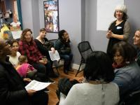 In December 2018, Germantown residents met with PlanPhilly reporters and editors to discuss local reporting.