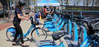 Indego Bike Share Station at Race Street Pier/Emma Lee, WHYY