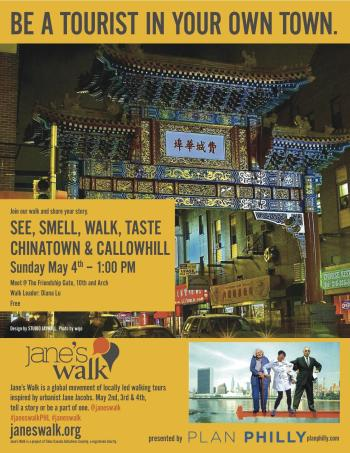 See, Smell, Walk, Taste Chinatown & Callowhill
