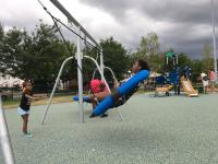 kids play at lanier