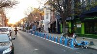 New 19-bike Indego station on South Street West | Marcus Ferreira