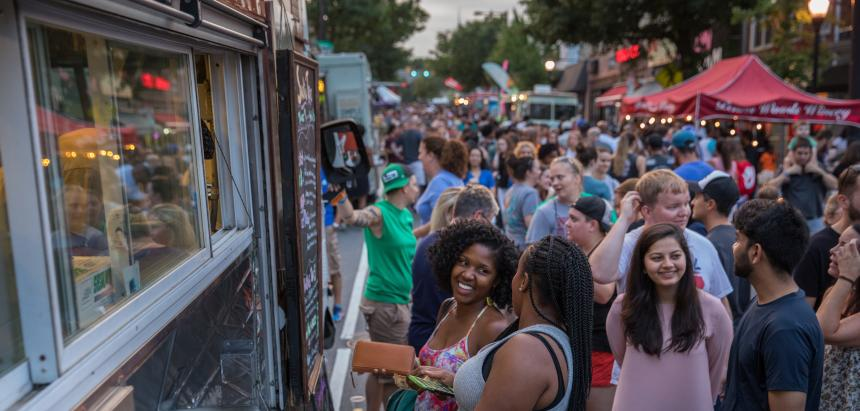 Night Market Philadelphia, one of the first pop-up series in Philly, returns for its eighth season. Credit: Dave Tavani for The Food Trust.