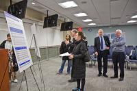 Only 32 people signed into SEPTA's annual open house. (Kim Paynter/WHYY)
