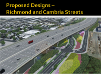 PennDOT's proposed design for Richmond and Cambria streets