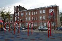 Philadelphia Parks and Recreation and Council President Clarke unveiled the newly renovated Amos Playground