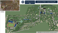 Philadelphia University, Institutional Plan - NW aerial view | CDR presentation, July 2016