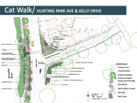 Plans for Kelly Drive and Laurel Hill