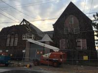 Protestant Church of the Messiah demolition underway | Andrew Fearon