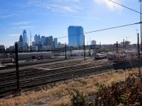 Rail yards from Drexel Park