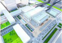 Rendering of 30th Street Station