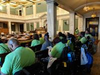 Representatives of the Philadelphia Coalition for Affordable Communities packed a Sept. 26 City Council hearing