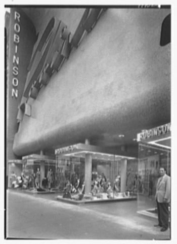 Robinson store, ground floor, 1946 | Gottoscho Schleisner Collection, Library of Congress