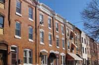 Rowhouses in Point Breeze