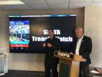SEPTA GM Jeff Knueppel announces debut of SEPTA Transit Watch APP