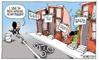 Signe Wilkinson delinquency cartoon in Philadelphia Inquirer