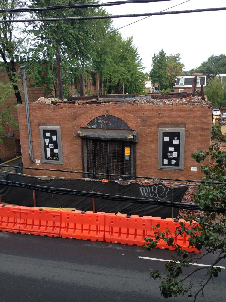 The Society Hill Playhouse was demolished in September 2016 (Ashley Hahn/PlanPhilly)