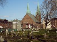 A view of St. Laurentius from Palmer Cemetery in 2015 | Michael Klusek, EOTS Flickr Group