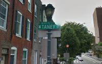 Taney Street is named or the chief justice of the U.S. Supreme Court who wrote the infamous Dred Scott decision. | Google Maps