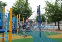 The city recently renovated Piccoli Playground to meet new standards for