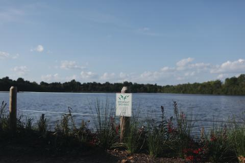 The East Park Reservoir is being renamed Strawberry Mansion Reservoir. | Neal Santos for PlanPhilly