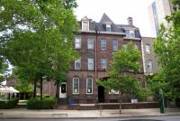 The Episcopal Cathedral appealed to the Historical Commission to demolish these Chestnut Street brownstones, and the commission agreed that their demolition was in the