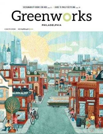 The review for the first year of Greenworks is more of a magazine than a technical report.