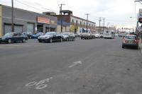 Today the bike lanes that exist on portions of Washington Ave are faded almost beyond recognition