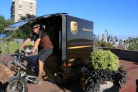 UPS has rolled out e-cargo tricycles in Pittsburgh and Seattle. Another city will be announced within the next few months.