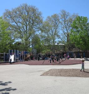 Weccacoe Playground, May 2014