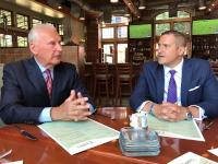 Wilmington's Mayor Michael Purzycki with HUD Region III Administrator Joe DeFelice