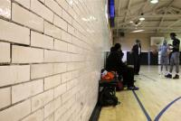 Young men gather for an afternoon basketball game at Vare Recreation Center.  | Emma Lee/WHYY