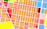 Zoning map detail showing CMX 2.5 and CMX 2 zones in North Philadelphia